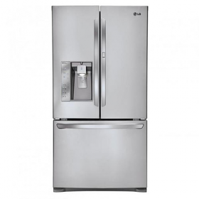 LG GR-J338LSJM 930 Liter 3 Door Stainless Steel French Door Refrigerator - 220-240 Volt 50 Hz