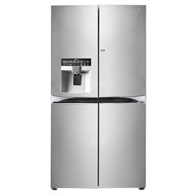 LG GR-J33FWCHL 220-240 Volt 50 Hz 4 Door French Door Refrigerator With Door in Door