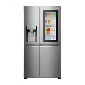 LG GR-X2475CSAV 23.8 Cu Ft Door in Door Multi Air Flow Side by Side Refrigerator