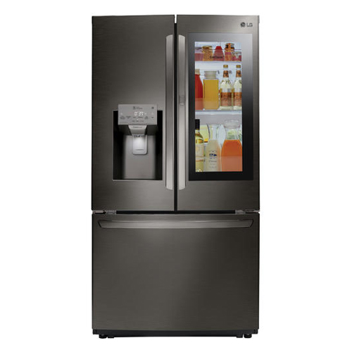 LG LFXS26596D 26.1 Cu Ft SMART French Door Refrigerator - Door in Door - Insta View - Refurbished Version