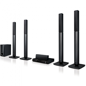 LG LHD457 110-240 Volt 50 / 60 Hz Home Theatre System