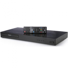 LG UBK80 UHD 4K 2D/3D Region Free Blu Ray Disc DVD Player