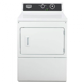 Maytag MDE18MNAGW 220 Volt 240 Volt 50 Hz Super Capacity Electric Dryer