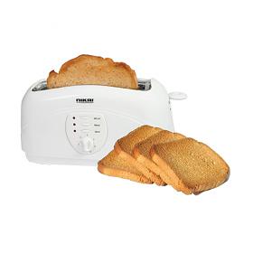 Nikai NBT531 220-240 Volt 50 Hz 4 Slice Bread Toaster