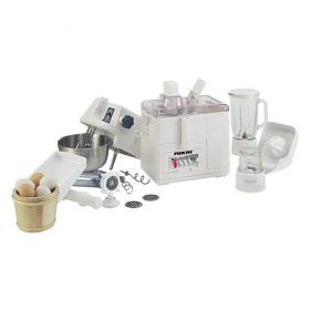 Nikai NFP1703N 10 in 1 Food Processor - Blender, Mill, Juice Extractor - 220-240 Volt 50 Hz