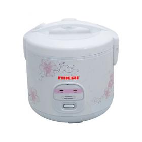 Nikai NR674N3 1.8 Liter Rice Cooker - Plastic Steamer - 220-240 Volt 50 Hz