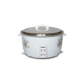 Nikai NR677N 5.6 Liter Rice Cooker - OneTouch Operation - 220-240 Volt 50 Hz
