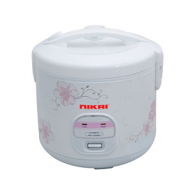 Nikai NR679N 1.2 Liter Rice Cooker - OneTouch Operation - 220-240 Volt 50 Hz