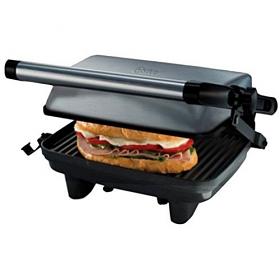 Oster CKSTPA2880 Compact Silver Grill Sandwich Maker
