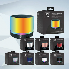 GenTek S3 Wireless Super Portable Speaker with Precision Engineered Sound