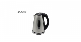 Sokany SDH-208 1.00 Liter Stainless Steel Electric Kettle - 220-240 Volt 50 Hz - To Use Outside North America