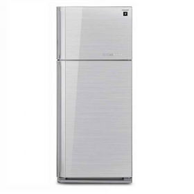 SHARP SJ-SC53V-SL 397 LTR TOP Refrigerator - 220 Volt 50 Hz - To Use Outside North America.