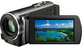 Sony HDR-CX110E MS PRO 2/SD/SDHC Full HD PAL Camcorder, Black