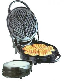 Saachi SA-1810 220-240Volt Waffle Maker