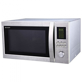 Sharp R78 220-240 Volt 50 Hz Microwave Oven with Grill Microwaves