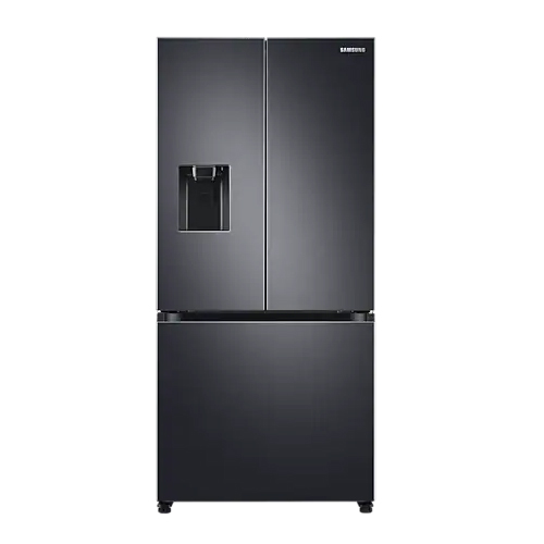 Samsung RF49A5302B1 French Door Refrigerator with Water Dispenser - 470 Liter - 220-240 Volt 50 Hz