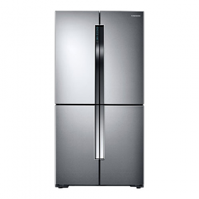 Samsung RF60J900SL 220-240 Volt 50 Hz 4 Door Stainless Steel Refrigerator - Triple Cooling