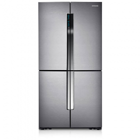 Samsung RF905QBLASL 28 Cu Ft. - 819 Liter 3 Door Recess Handle French Door Refrigerator -