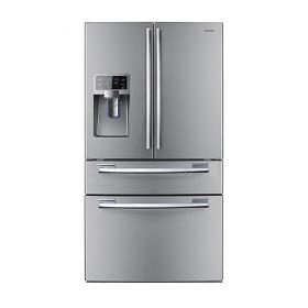 Samsung RFG28MESL 220-240 Volt/ 50 Hz French Door Refrigerator