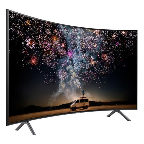 "Samsung UA-55RU7300 55"" Multi System 4K UHD Multi System SMRT WIFI Curved LED TV - 110-240 Volt 50/60 Hz"