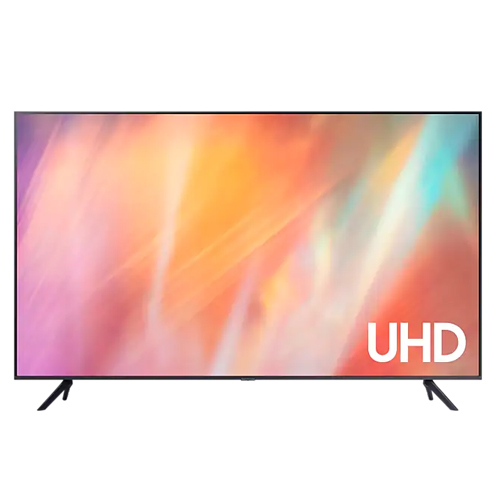 "Samsung UA-43AU7000 43"" UHD 4K SMART Multi System TV - Dual Voltage 110-240 Volt 50/60 Hz"