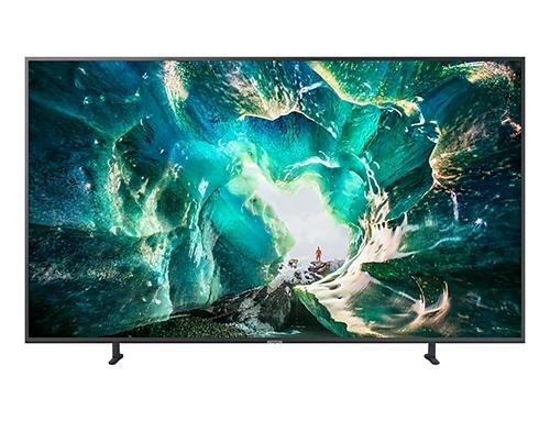 "Samsung UA-82RU8000 82"" 4K UHD SMART WIFI Multi System CURVED LED TV - 110-240 Volt 50/60 Hz"