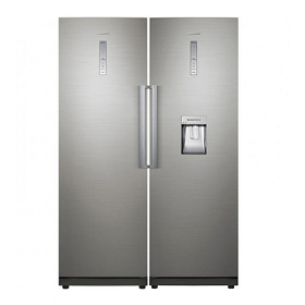 Samsung RZ28H61507F and RR35H66107F 220-240 Volt Refrigerator and Freezer Combo Unit