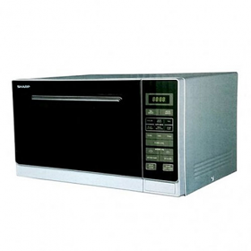 Sharp R-32AO 220-240 Volt Stainless Steel Microwave Oven
