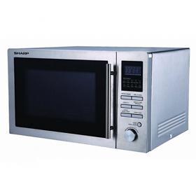 Sharp R-82AO 220-240 Volt 25 Liter Microwave Oven