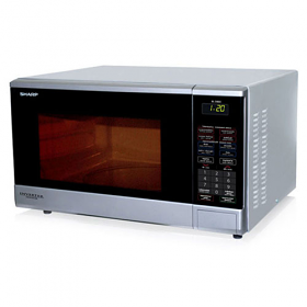 Sharp R380V 220 Volt 50 Hz Microwave Express Defrost