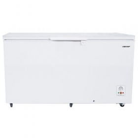 Sharp SJ-C415 220 Volt 240 Volt 410L White Chest Freezer