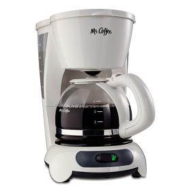 SunBeam - Mr Coffee 4 Cup 220 Volt 240 Volt 50 Hz White Color Coffee Maker