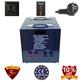 TC-20000A-U/D 20,000 Watt Step up and Down Voltage Transformer Converter Heavy Duty Voltage Transformer - 110-120 to 2240-240 Volt or 220-240 to 110-120 Volt - The Best Quality!!!