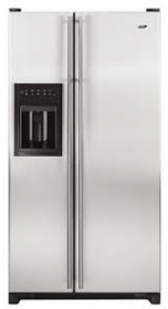 Whirlpool 220 Volt WGC2227HEKS Side by Side Refrigerator