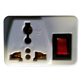 WSS102 - UK Universal Plug Adapter with On/Off Switch