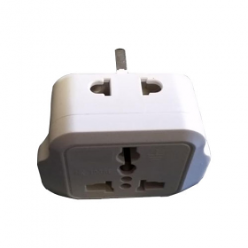 WSS107 - UK Universal Plug Adapter with 2 Outlets
