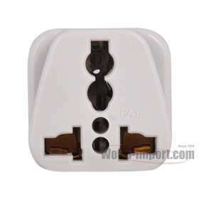 Any plug to Asian 2 pin Plug Adapter - WSS411