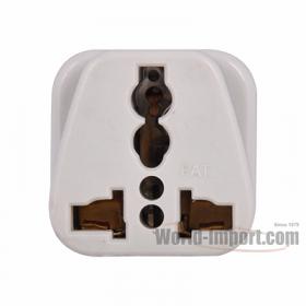 WSS414 Any plug to Grounded 3 pin UK/Hong Kong Plug Adapter