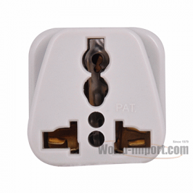 Any plug to 3 Pin Grounded Asian Plug Adapter - WSS415