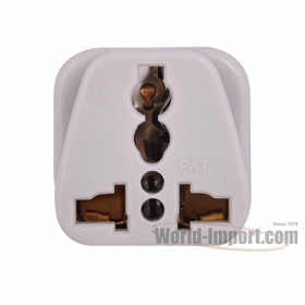 Any plug to 3 pin Australia/New Zealand Plug Adapter - WSS416