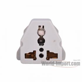 Any plug to Grounded Euro (Shucko) Plug Adapter - WSS421