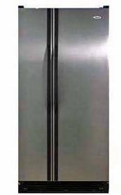 Whirlpool 5ED2FHKXRL 23 cu ft Stainless Steel Side by Side Refrigerator