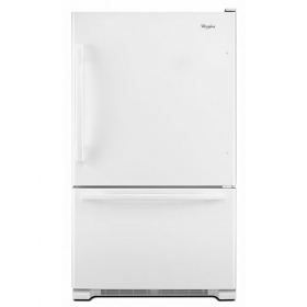 Whirlpool 5GBB19PRYW 220-240 Volt 50 Hz 19 Cu. Ft. Bottom Mount Refrigerator