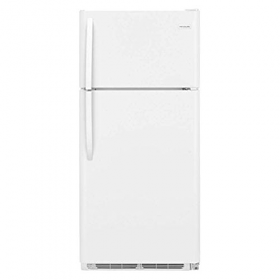 Whirlpool 5VET2WPKLQ 220-240 Volt 50 Hz 21 Cu. Ft. Textured Finish White Top Mount Refrigerator