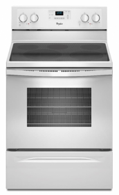 Whirlpool 4KWFE7685EW 220-240 Volt 50 Hz Self Clean Smoothtop Electric Range