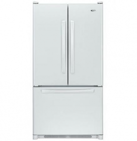 Whirlpool WGB37026FEAW WW 220 Volt 50 Hz 28 Cu. Ft. French Door Refrigerator