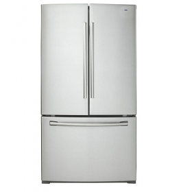 Whirlpool WGFB2058EA 220-240 Volt 50 Hz 23 Cu. Ft. Sparkle Steel French door Refrigerator 3 Door Refrigerator