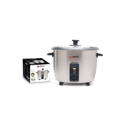 Alpina SF-1911 Rice cooker, Medium, Silver