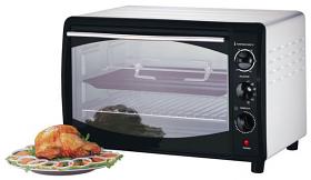 Black and Decker TRO60 220-240 Volts 50 Hertz Oven - 42 Liter Capacity - Convection Function - 220-240 Volt 50 Hz