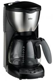 Braun KF590 220-240 Volt 50 Hz Black Color Coffee Maker